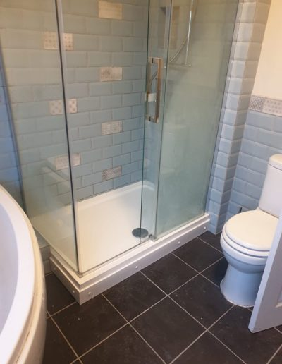full update of bathroom for home in Oxford