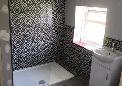 installed bathroom Long Crendon
